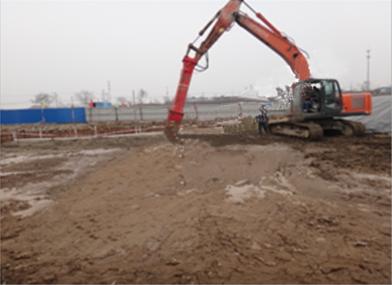 南方某化工厂污染土壤修复中试工程