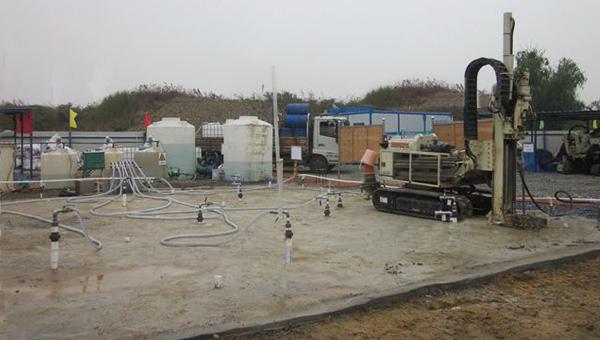 广州油制气厂地污染场地土壤及地下水修复工程